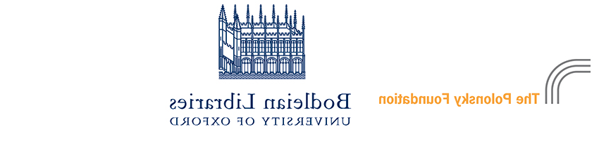 The Polonsky Foundation and Bodleian Library logos