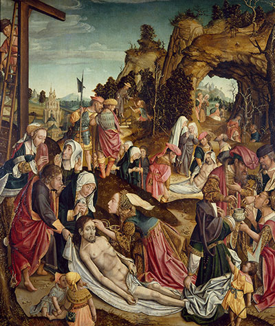 Master of Delft's Deposition of Christ