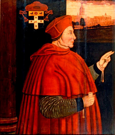 Portrait of Cardinal Wolsey